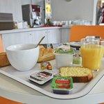 notre petit-déjeuner buffet