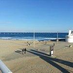 Der Strand im Januar