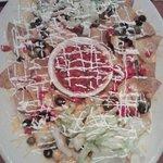 Nachos on large platter