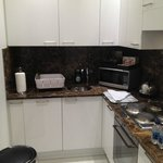 Kitchenette with dishwasher and clothes washer