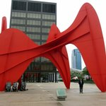 Calder statue downtown,,, don't miss it!