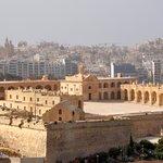Fort Manoel et Sliema, vue depuis Hastings Gardens