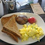 The breakfast!
