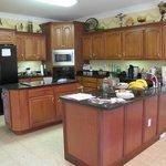 their beautiful kitchen