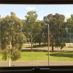 View from the room - Northbourne Avenue