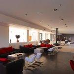 Spacious lobby/sitting area