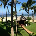Private bure for massage or lunch by the beach