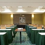 Spacious meeting rooms available.