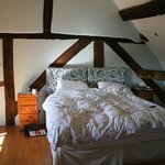 Oak beamed bedroom with Kingsize bed