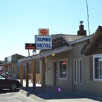 Outside view - front of motel