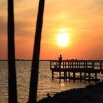 Fishing Pier at Sunset