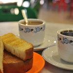 Hot Beverages & Kaya Toast