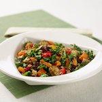 Warm Local Roasted Veggie Salad