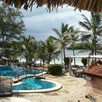 piscina Mapango e successivamente la spiaggia