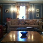 one view of the lovely living room