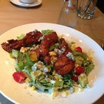 chicken cob salad is a must try
