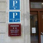 Die Pension zum gleichnamigen Hotel