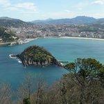 Aussicht vom Hausberg San Sebastians
