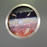 Dreaming or Screaming sign for privacy, nice touch!
