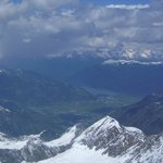heavenly alps down to Zell amSee