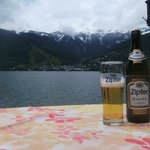 across to Zell am See