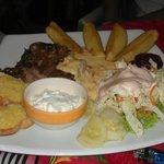 ein Filetsteak mit Gorgonzola Soße