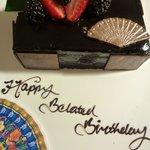 Suprise Birthday Cake from Mandarin Oriental