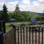 The Rose and Crown, Limpley Stoke - Beer Garden