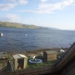 View from Bedroom of Loch