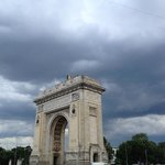 Triumph Arch Aufnahme