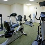 Blow off some steam at our 24-hour fitness center.