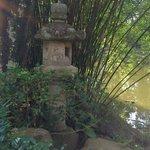 石灯篭と竹