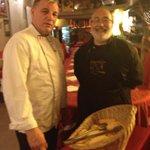 Avec le chef Jean-Marc Larrue