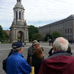 Starting our tour at Trinity College