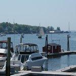 Baie de Bootbay Harbor