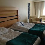 Room 136 with twin beds