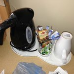 Free tea and coffee making facilities in the room