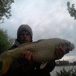 14 lb carp caught at lower lakes