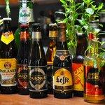 Different craft beers
