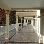 Veranda Balcony accessible through the lobby