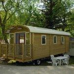 Camping la Ferme de Castellane - Roulotte