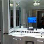 bathroom at the Ritz