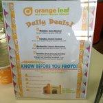 Orange Leaf fund raising