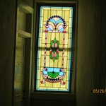 Hall stained glass window