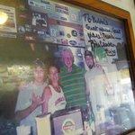 Bubba ate at Bubba's  :)
