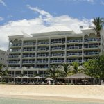 View of the Beachcomber from the beach