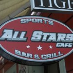 All Stars Cafe Sign