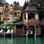 Villa & historic Boathouse