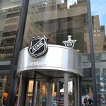 Entrance to NHL Store