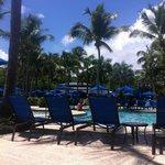 Wyndham Rio Mar poolside